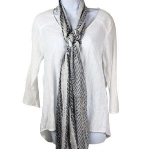 SCARF BY COLLECTION EIGHTEEN  HEATHER GR…